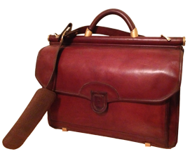 Leather Reconditioning Leather Briefcase
