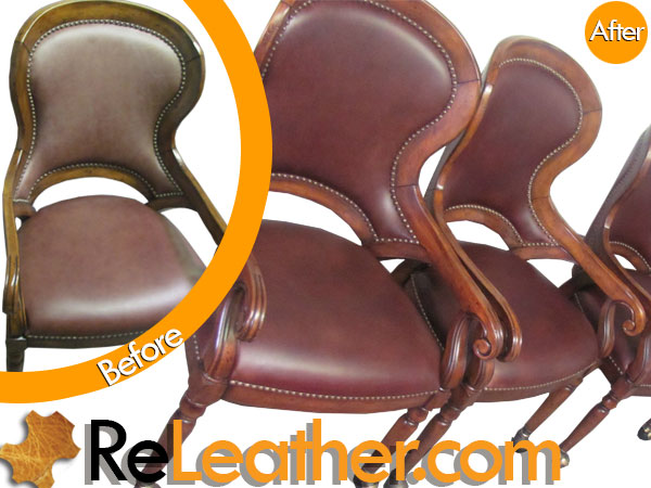 Leather Dining Dyeing Service