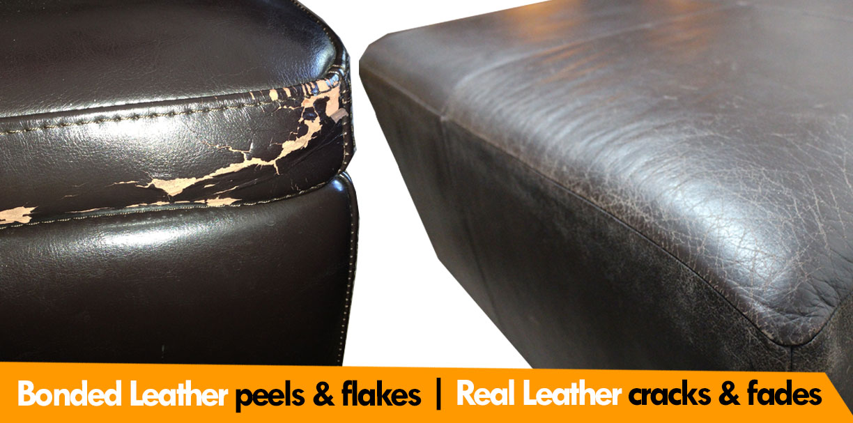... Bonded Leather Vs Real Leather Parison ...