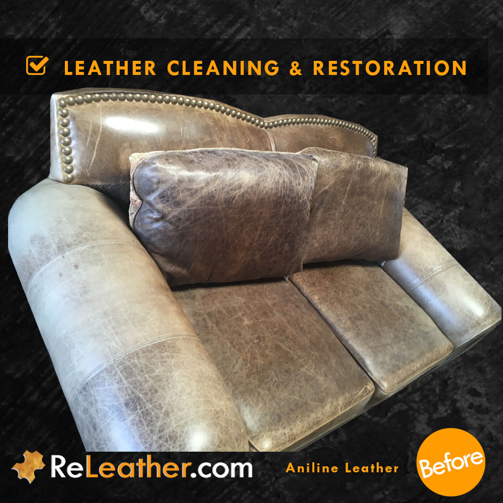 Excellent Aniline Leather Cleaning And Restoration Furniture Andrewgaddart Wooden Chair Designs For Living Room Andrewgaddartcom